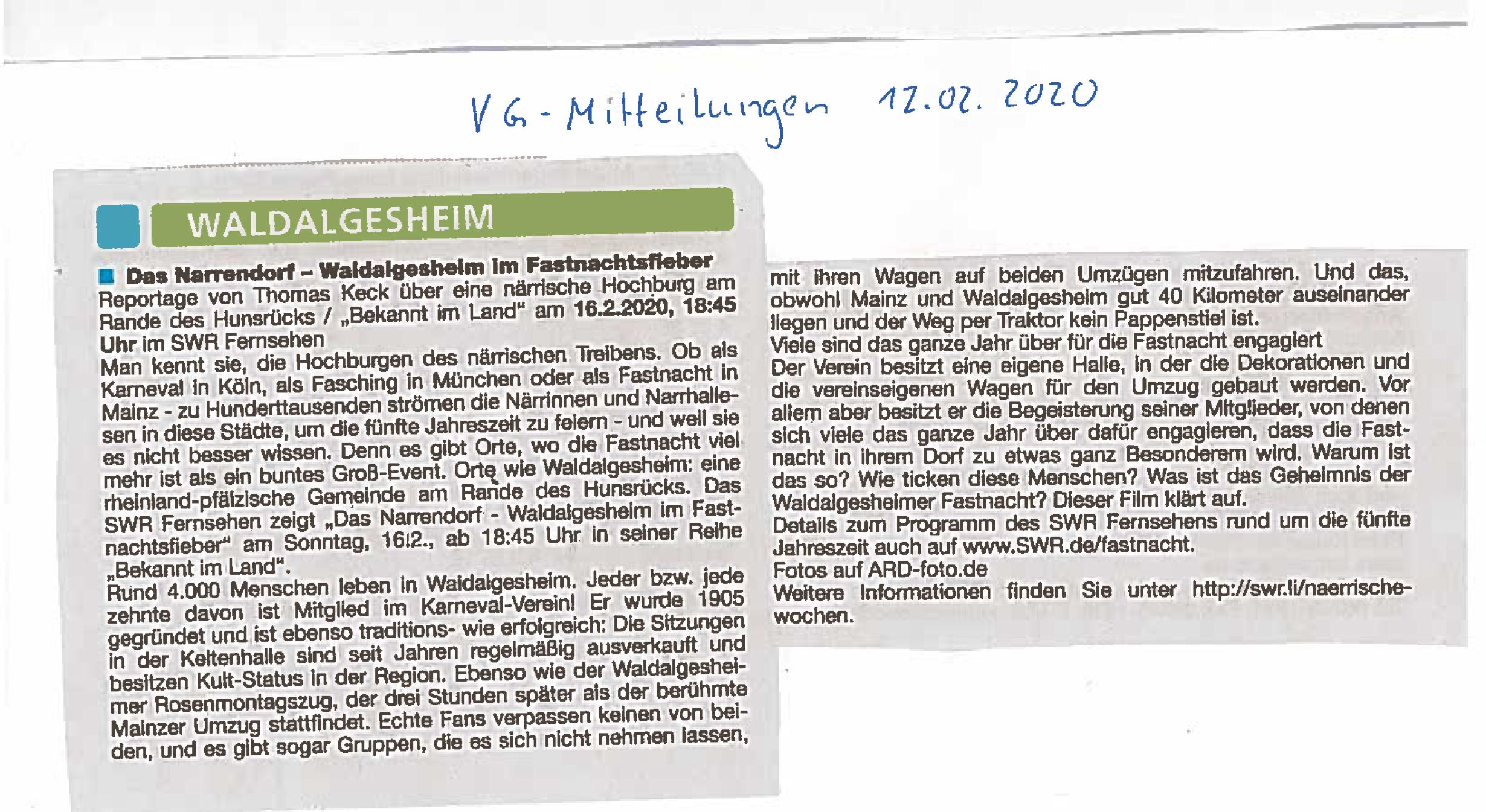 20200212_vg mitteilungen