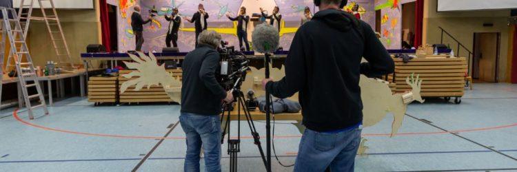 Der SWR filmt beim KVW